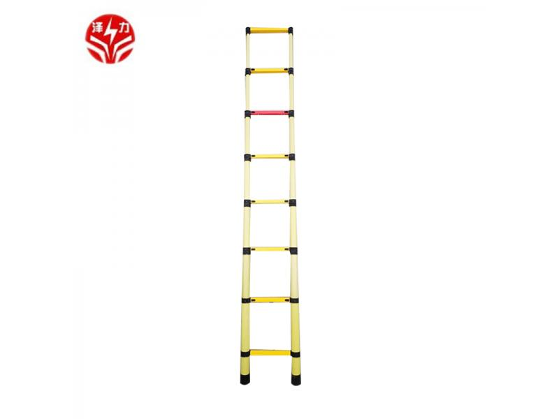 Chinese well-known supplier fiberglass telescopic ladder