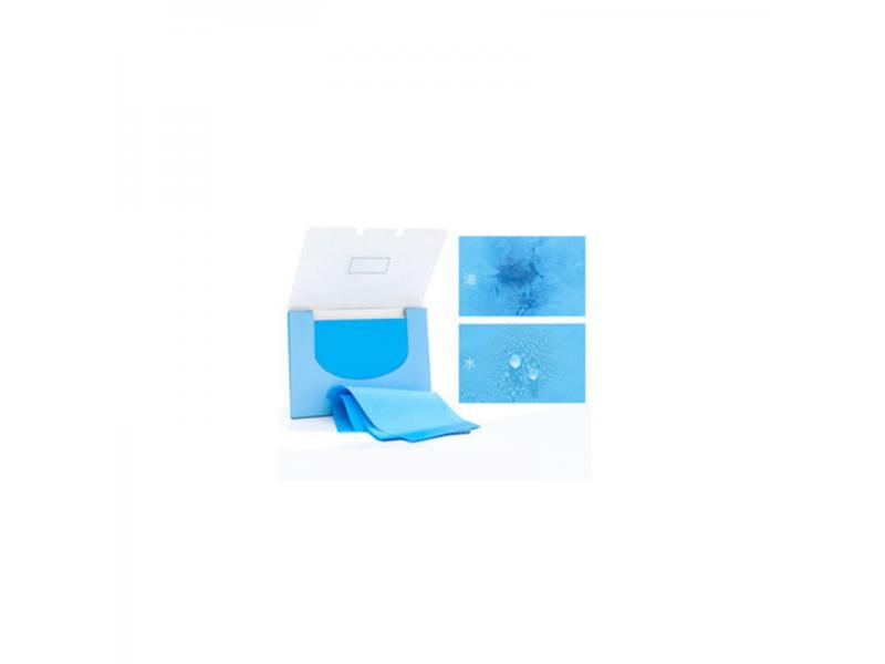 Instant magic to oil paper, face oil control, oil-absorbing paper, blue film