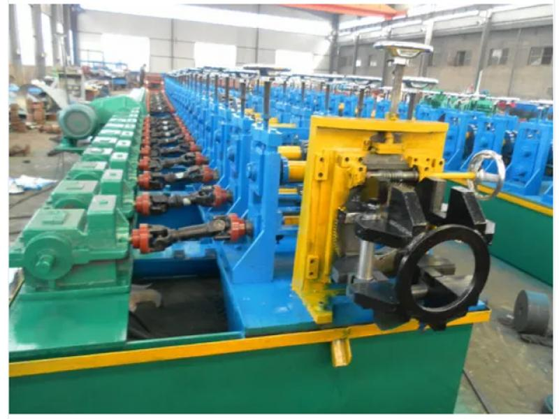 Solar Mounting Bracket Rack Cold Roll Forming Machine