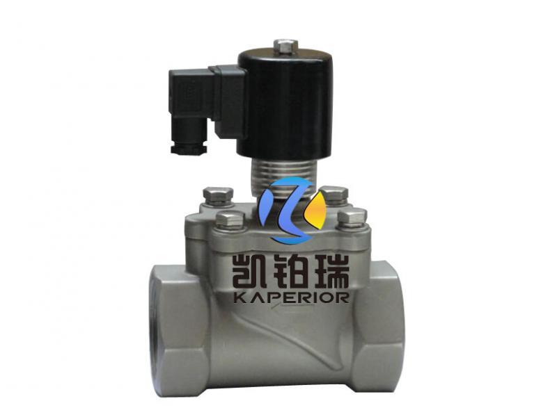 Low temperature solenoid valve