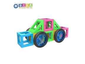 STEM Educational Magnetic Blocks with Running Ball Marble Run