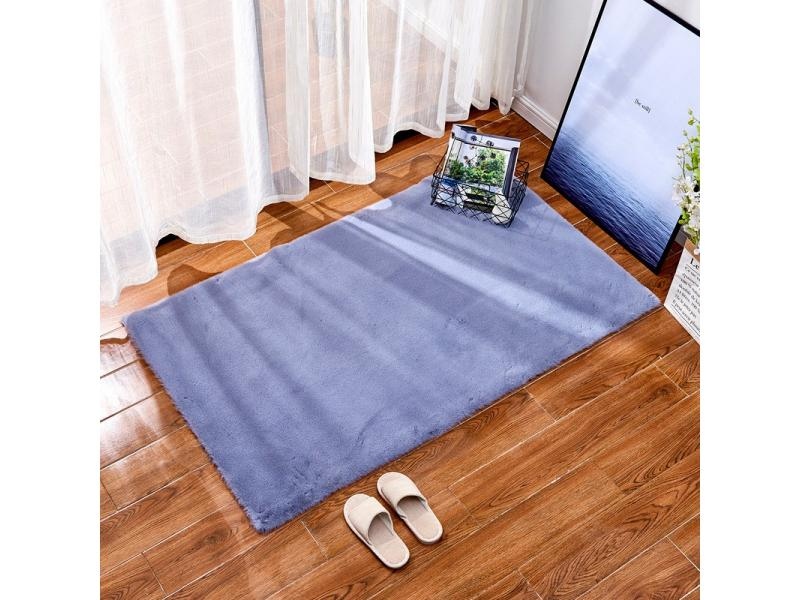 Imitation rabbit hair carpet living room bedroom tea table bedside carpet floor entry foot short plu