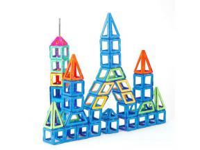 Preschool EN71 ASTM cetificates Magnetic Building Blocks Magnet Tiles Toys for Children