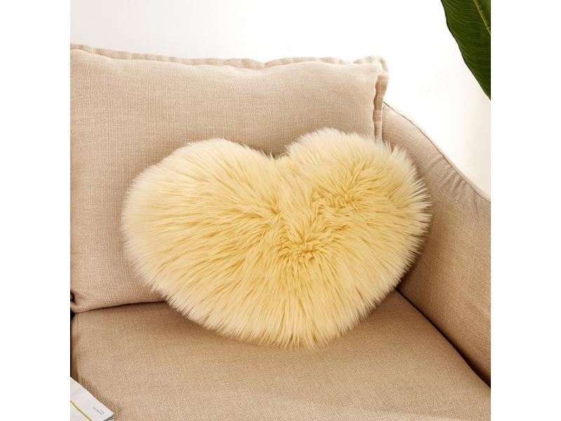 Imitation plush pillow pillow pillow case sofa