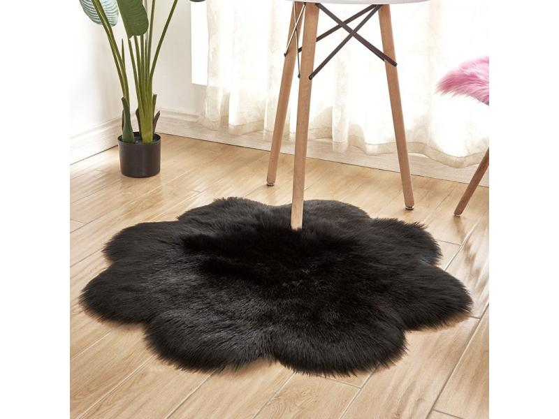 Door foot living room bedroom household carpet plush imitation wool carpet floor customized