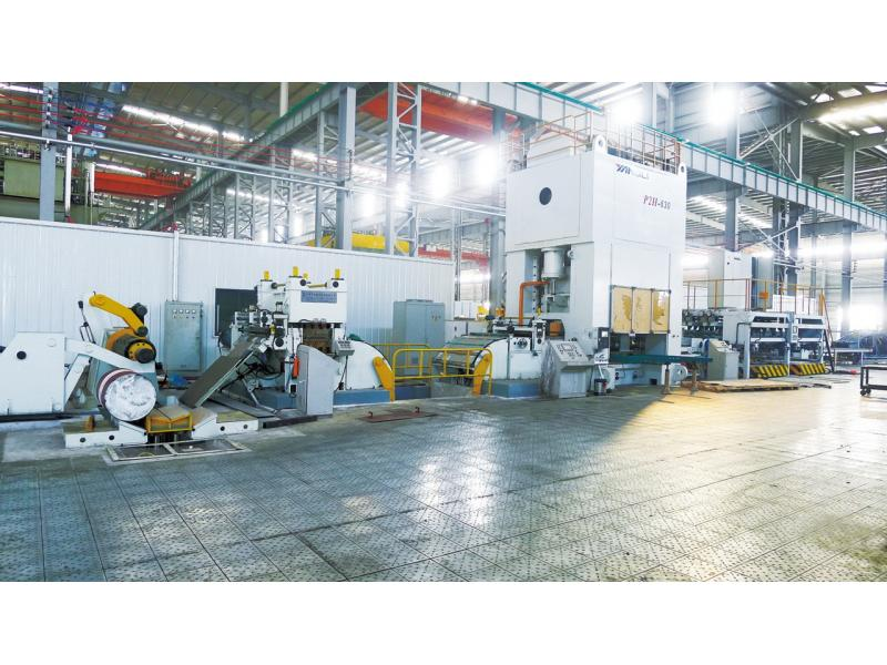EBL Series Duranle and Precision Blanking line machine