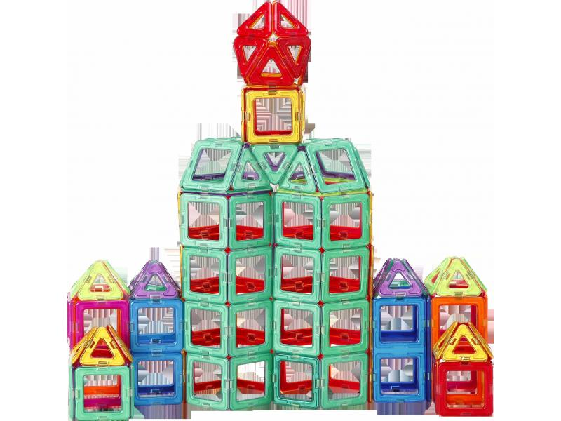 Educational Toys Distributors Construction Plastic Magnetic Building Blocks Educational Toy