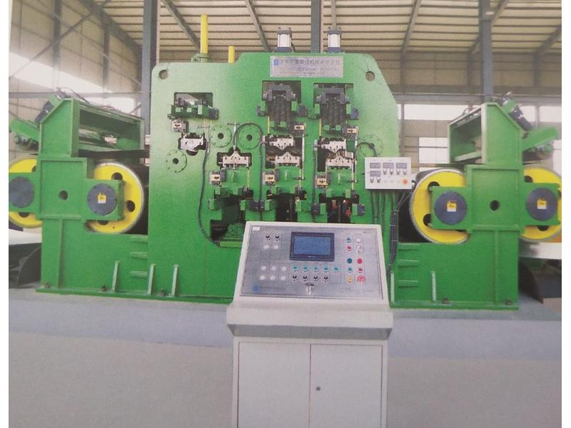 Flexible operation Tension Leveling Machine for straightening Steel Coils