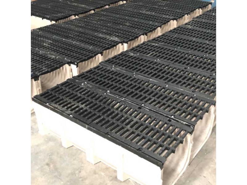 Trench Drain Grating/ Polymer Concrete Drain Channel Cover Board/ Steel Grating
