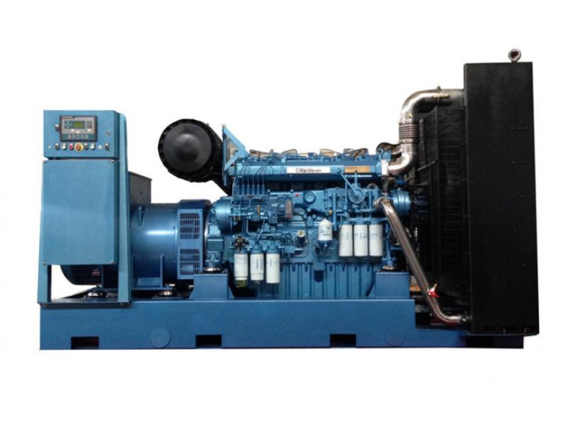 700kw/875kVA Baudouin Diesel Generator Set Powered by Weichai Engine