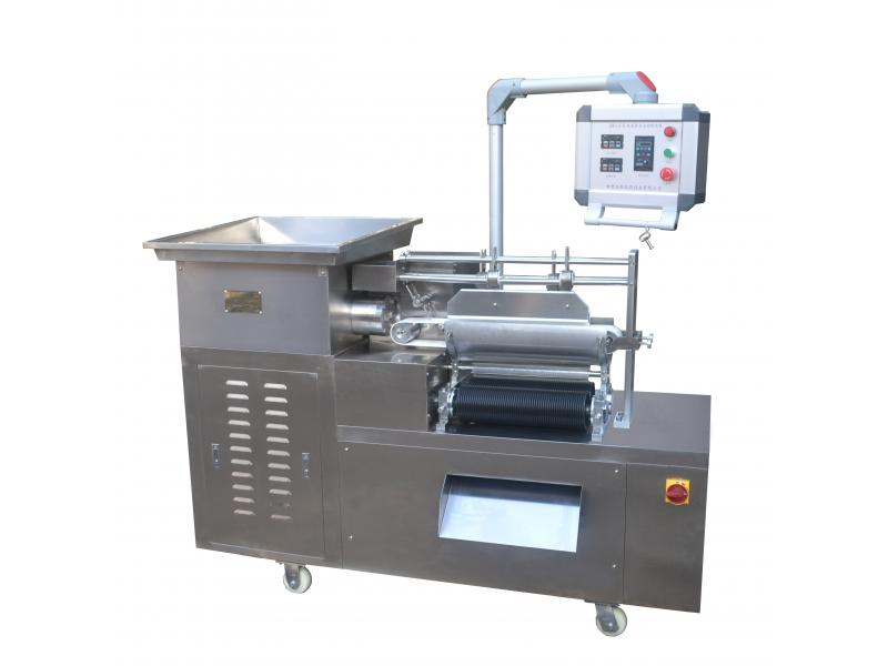 Automatic double row bar pill making machine