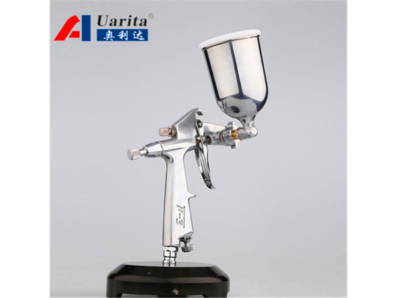 Auarita F-3 Pistol Semprot Cat Airbrush 125ml 1.0mm spary gun higest quality Feeding Air