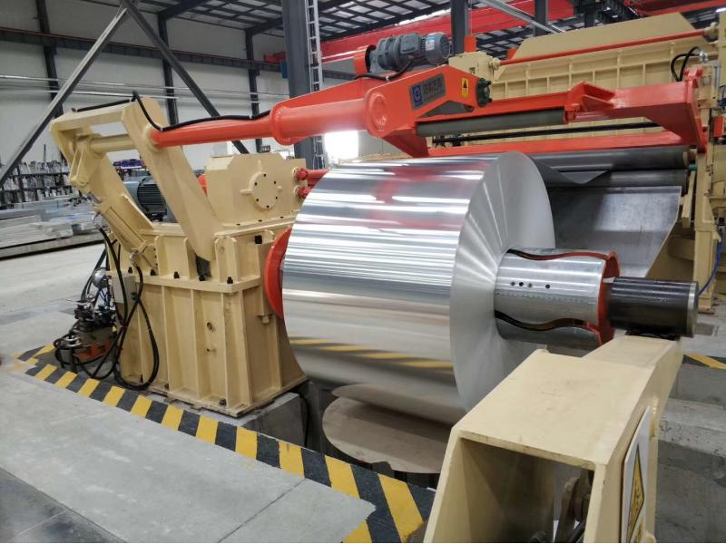 Hochpraezis Machine&Stainless Galvanized Steel Coil Cut to Length Line for Middle Material