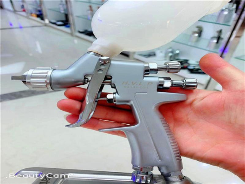 Auarita h921 Pistol Spray Gun HVLP Mini 1.0 mmor 1.2mm nozzle 250ml