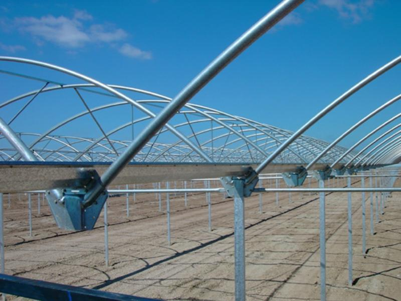 Steel Greenhouse Structure-- Rain Gutter with 275G/M2