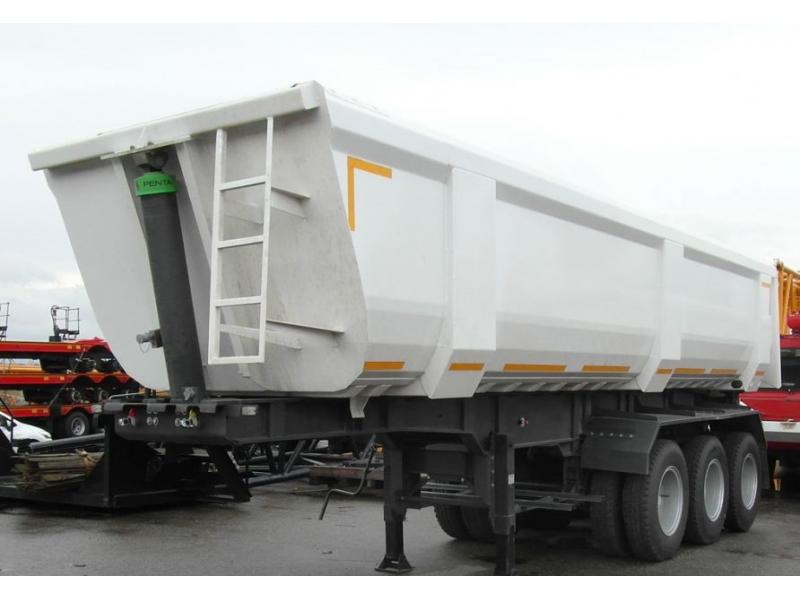 60 tons Rear Dump Semi Trailer/Tipping Truck Trailer for Sale