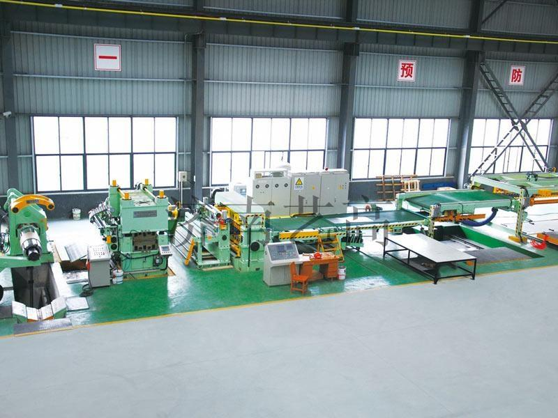 Advanced Design Coid/Hot Rolled Stainless Galvanized Steel Coil Rotary Shear Cut to Length Line