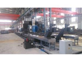 Nine-Spindles CNC Beam Drilling Machine( Patent)