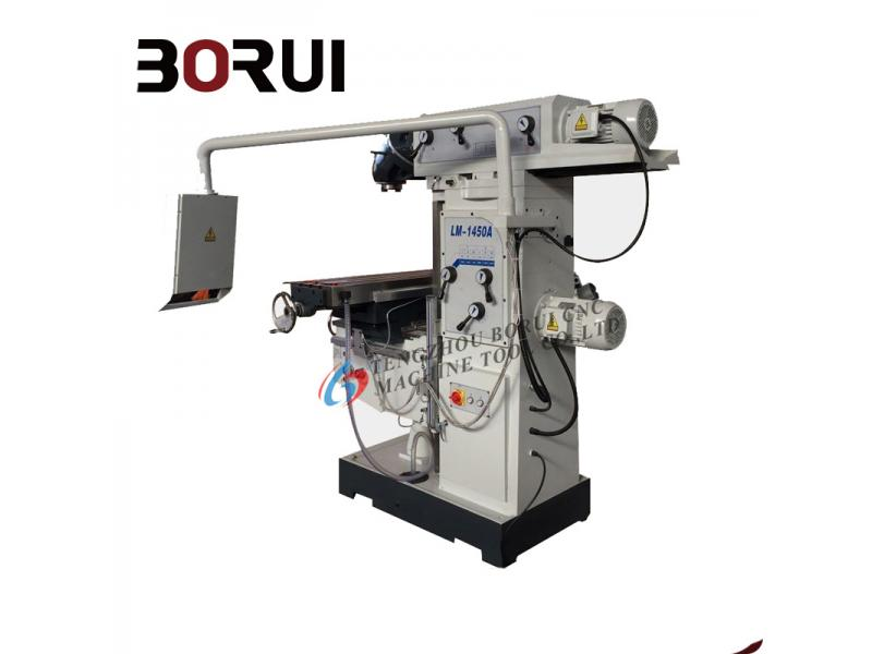 LM1450 High quality vertical-horizontal universal milling machine for sale in worldwide