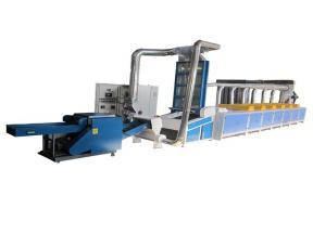 Rd Factory High Output CE Non Woven Textile Waste Opening Recycling Machine for Tearig Yarn/Clothes