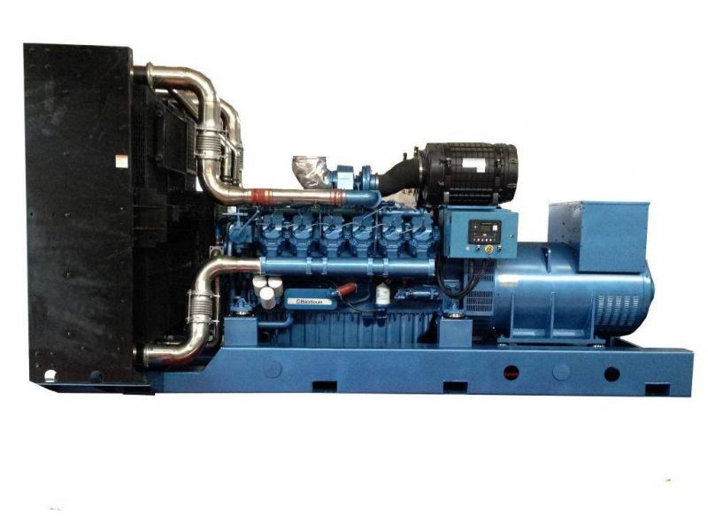 600kw/750kVA Baudouin Diesel Generator Set Powered by Weichai Engine