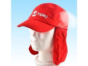 Baseball Sport Cap With Cloak Golf Cap
