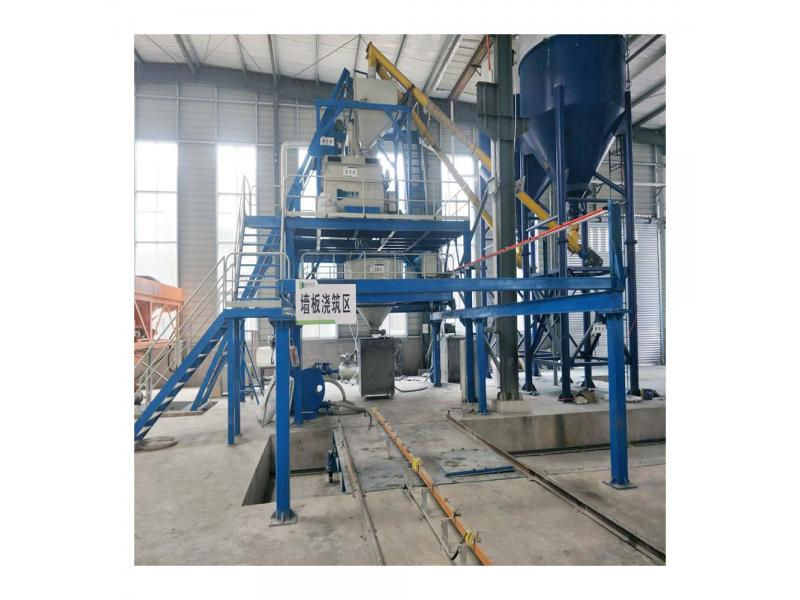 Precast Lightweight Hollow Core Cement Wall Panel Machine