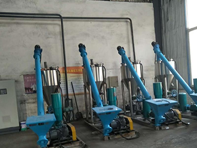Dry spray Denitrification Equipment No.2