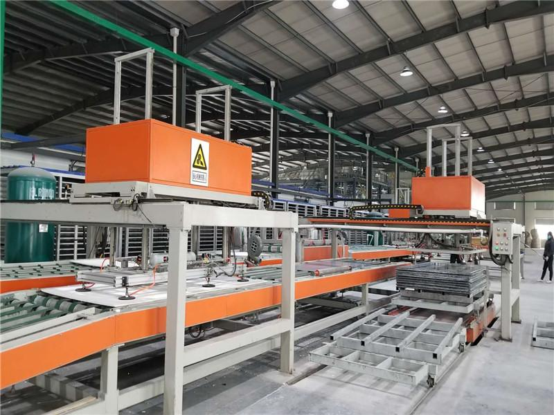 Class A Fireproof Magnesium Oxide Board Production Line
