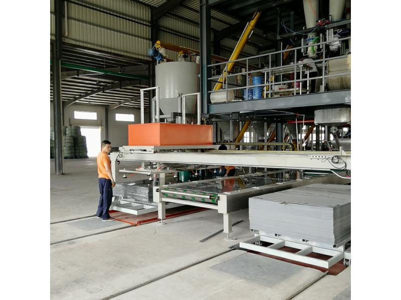 full automatic mgo board fiber cement board production machine