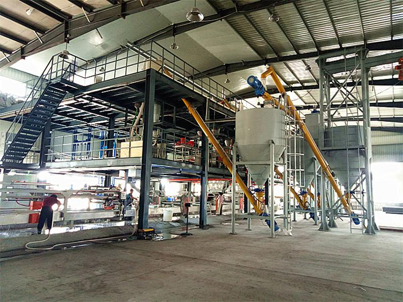 Magnesium Oxide Board Production Line Supplies for Europe