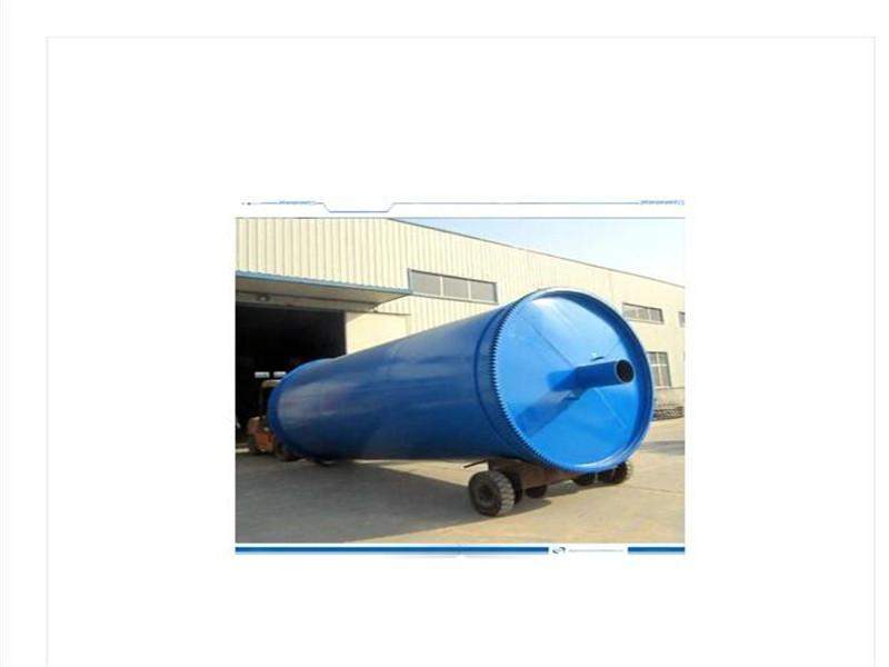 2015 Green Tyre to Oil Recycling Pyrolysis Plant 12tpd