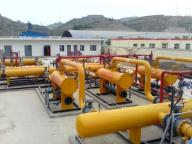 Natural Gas Pressure Regulating and Metering Station