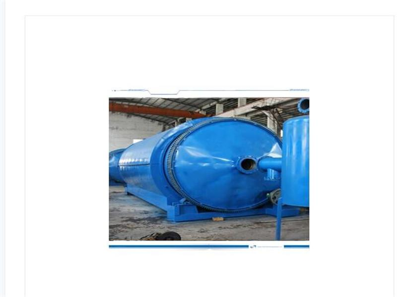 10ton Plastic Pyrolysis Plant Convert Plastic to Fuel Oil