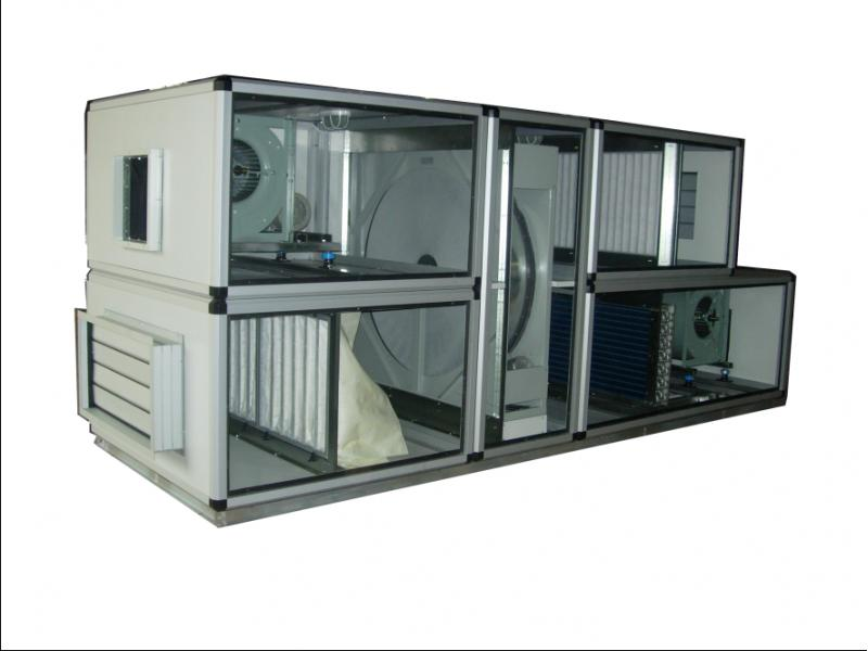 H'Stars Telewin Industrial cleanroom AHU Commercial Air Handling System Kitchen AHU