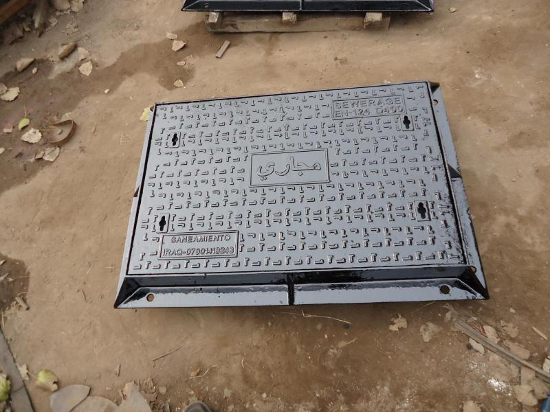 Ductile Iron Heavy Square Manhole Cover Detailed Introduction