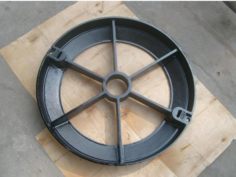 Ductile Iron Cement 670 Well Cover