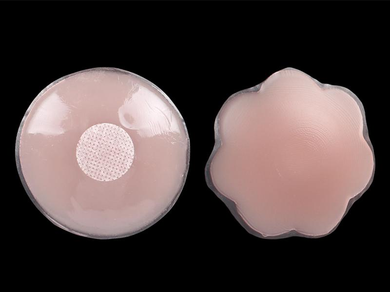 Factory price  hot selling Sexy invisible flower mini silicone bra nipples