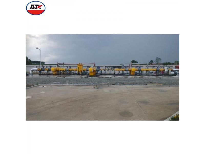 Natural Gas Pressure Regulating Metering Station Project
