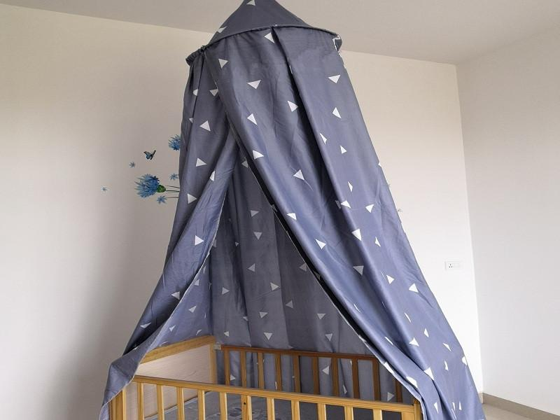 Kids Printing Bed Canopy Curtain