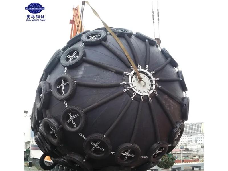 3.3*6.5m 3300X6500mm Yokohama Type Ship Floating Pneumatic Rubber Marine Fender