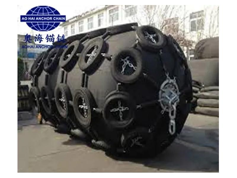 4.5*9.0m Yokohama Floating Rubber Fenders with CCS and ISO