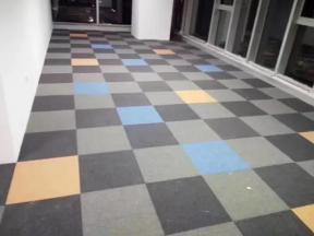 Needle Punched Carpet, Loop Carpet, Non-Woven Carpet, Backing PVC