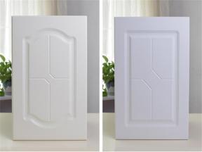 Custom PVC Face MDF Kitchen Cabinet Door