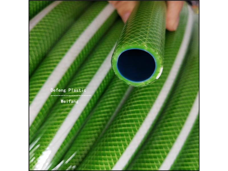 Flexible PVC Plastic Fiber Braided Reinforced Garden Water Irrigation Hose/Pipe