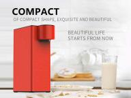 Nstant Heating Water Dispenser Stop Live Control Small Mini Fast Heating Household Desktop Desktop T