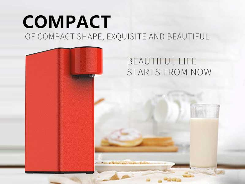 Instant Heating Water Dispenser Without Electric Control Destop Small Mini Fast Heating Household De