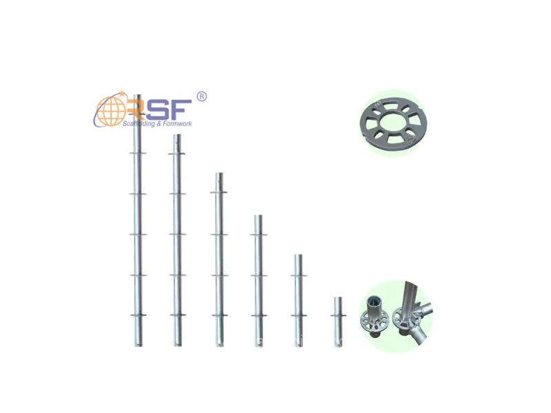 Hot Dip Galvanized Ring Lock Scaffolding System for Construction