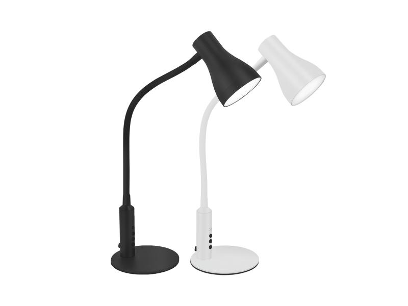 Metal LED Desk Lamp USB Port Healthy Eye Protection LED Lighting