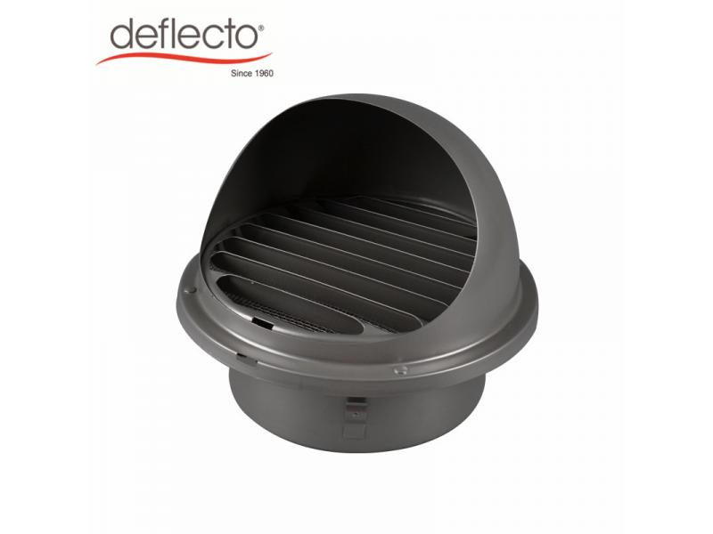 Deflecto 4/5/6 Inch Round Ventilation Fan Stainless Steel Vent Hood